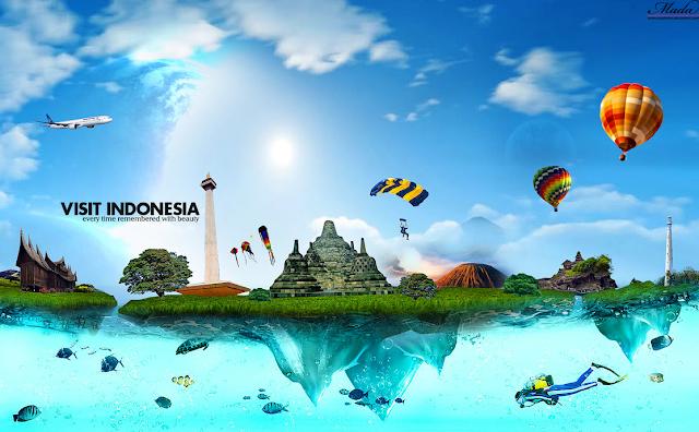 Indonesia Ada di 3 Besar Negara Dengan Wisatawan Terbesar di Dunia
