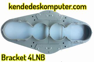 Bracket 4 LNB 4 Satelit, 1-2 Receiver, 1 Parabola