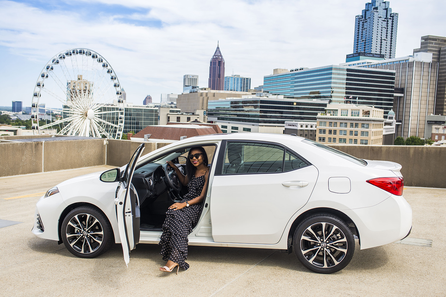 My weekend with the 2017 Toyota Corolla - Titi\'s Passion