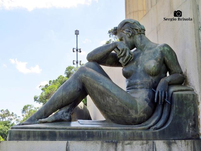 Musa da Escultura - Monumento a Ramos de Azevedo