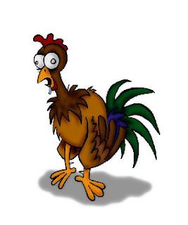 Engallinar es verbo castizo y significa volver gallina -esto es, cobarde- a alguien