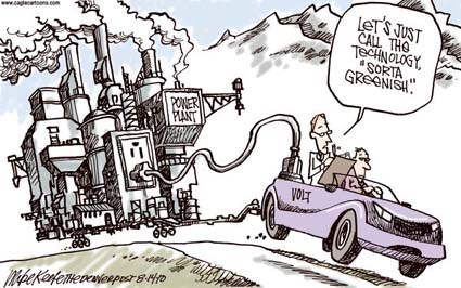 ELECTRIC CARS ARE ENVIRONMENTLY FRIENDLY!! Aren't they ...