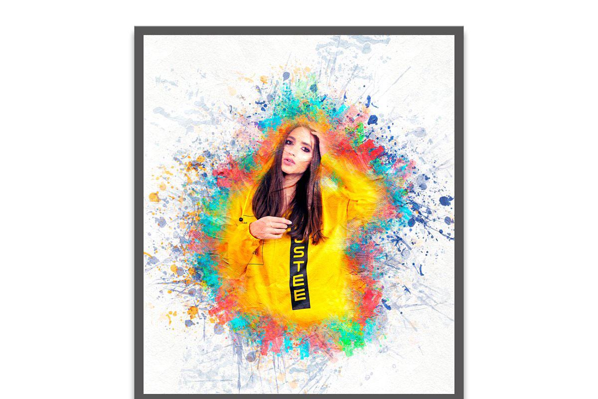 Artistic Oil Photoshop Action 5254054