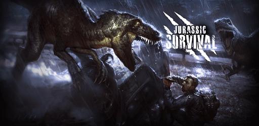 تحميل لعبة Jurassic Survival مهكرة اخر اصدار للأندرويد