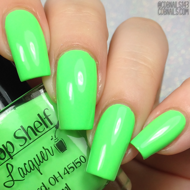 Top Shelf Lacquer-Kiwi Spinach Smoothie