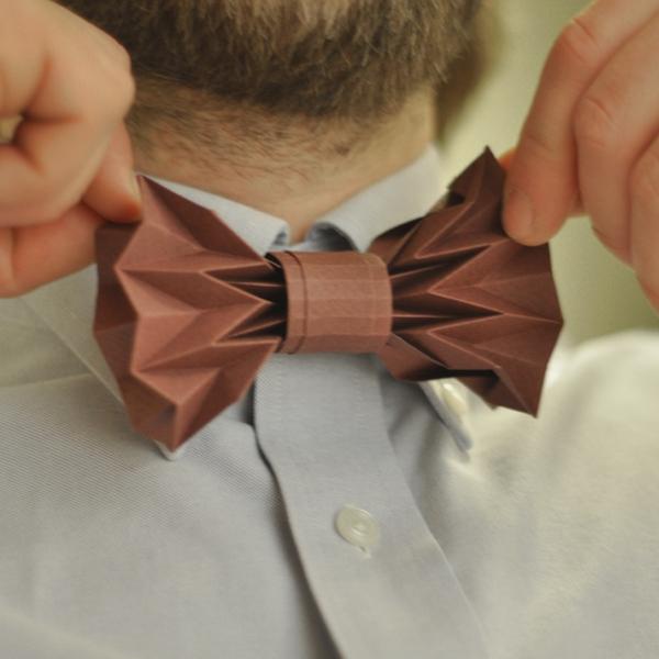 haute couture offrir des rabais produit chaud Un noeud papillon original...en origami - Le Noeud Papillon ...