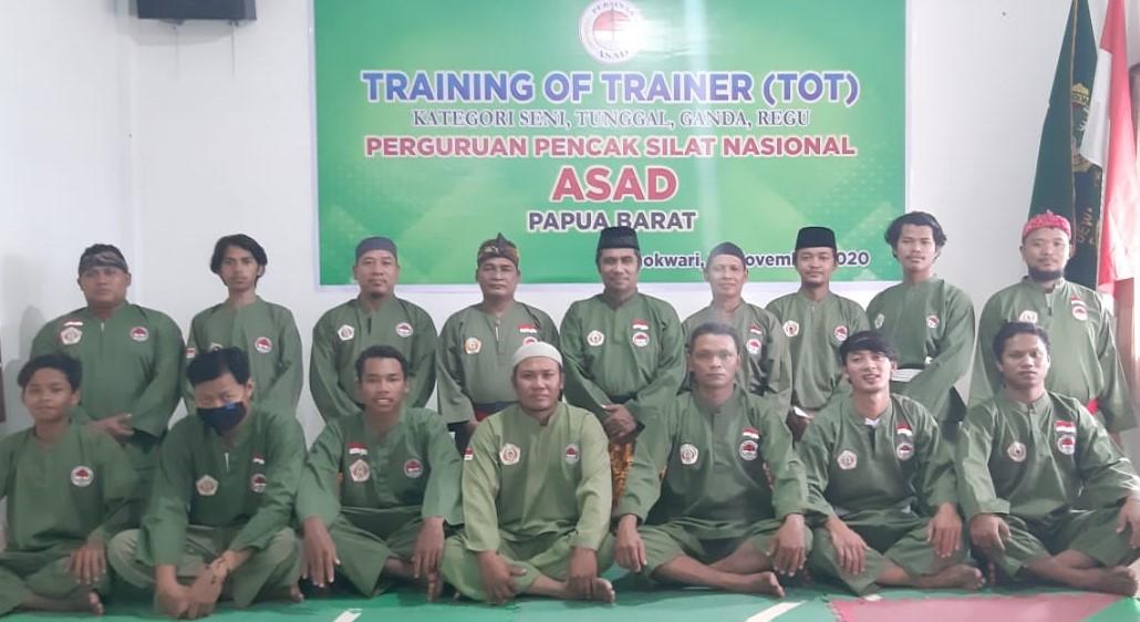 Training Of Trainer Persinas ASAD Papua