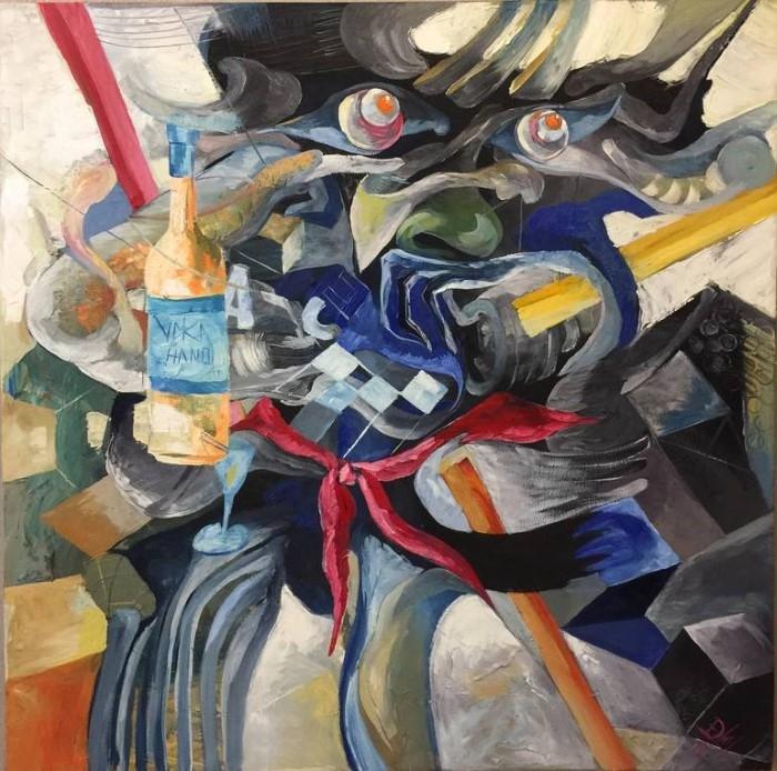 Вьетнамский художник. Loi Duc