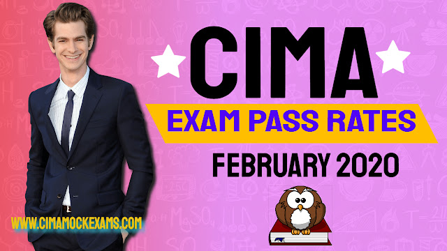 CIMA exam pass rates February 2020  -Objective tests & Case studies (Updated April 2020)