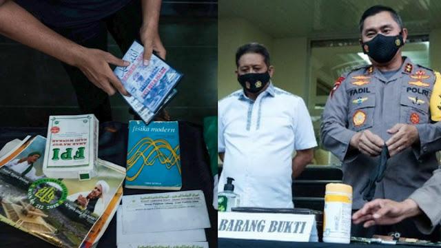 Polisi akan Telisik Kaitan FPI dengan Terduga Teroris Condet - Bekasi