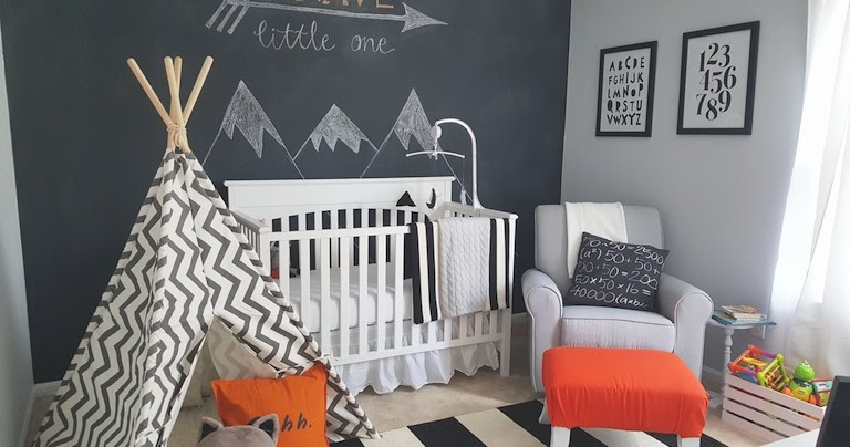 Fawn Over Baby Modern Black Amp White Woodland Themed Nursery