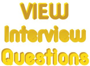 SQL Server View Related Interview Questions Answers