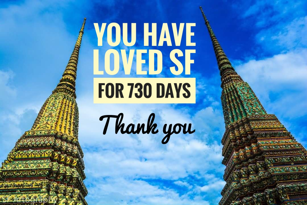 730 days of love for SF Artography..Thanks guys :)