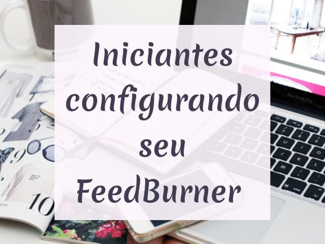 configurando o feed do blog
