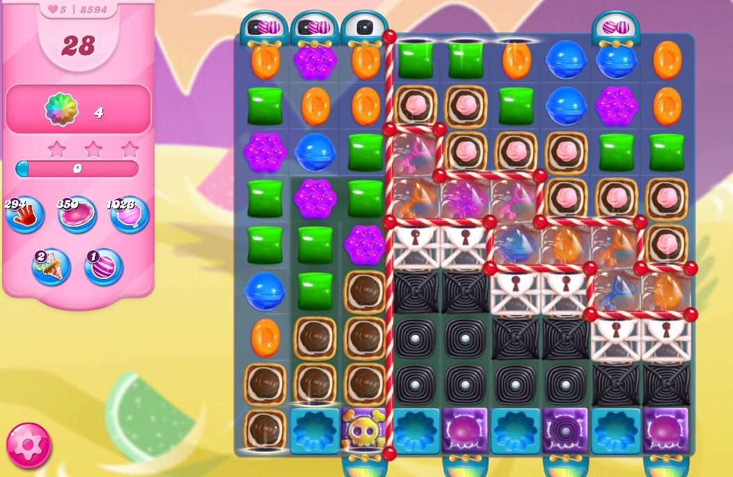 Candy Crush Saga level 8594