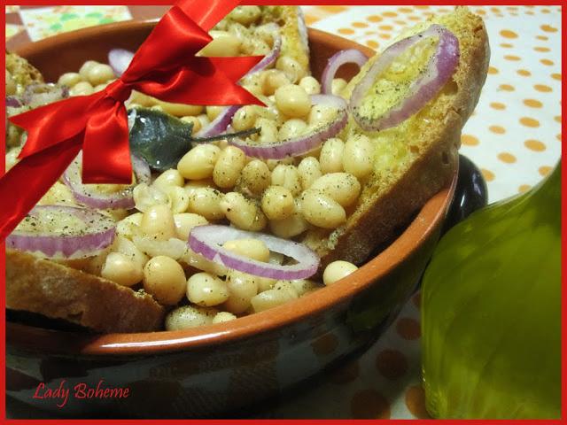hiperica di lady boheme blog di cucina, ricette facili e veloci. Ricetta zuppa di fagioli zolfini