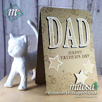 Stampin' Up! Wood Words 2017 2018 Male Card Mitosu Crafts Order Stampinup Online Shop UK 3