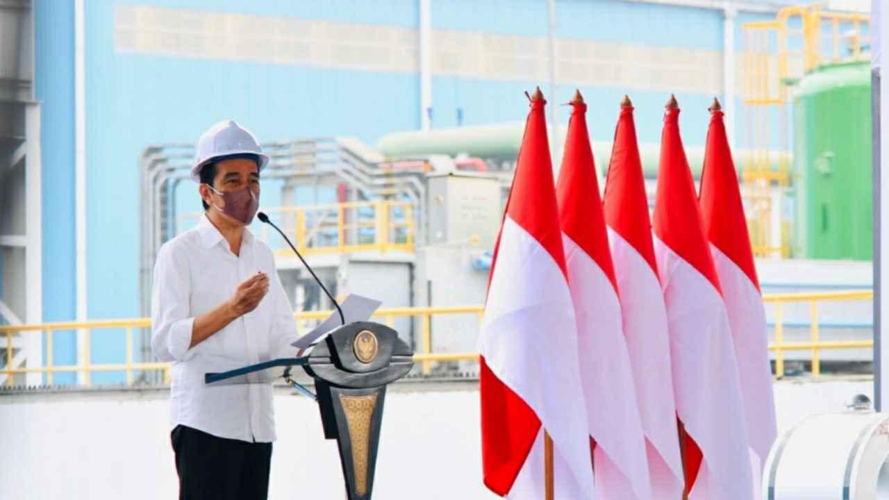 Presiden Joko Widodo: Industri Baja Pilar Penting Pertumbuhan Ekonomi