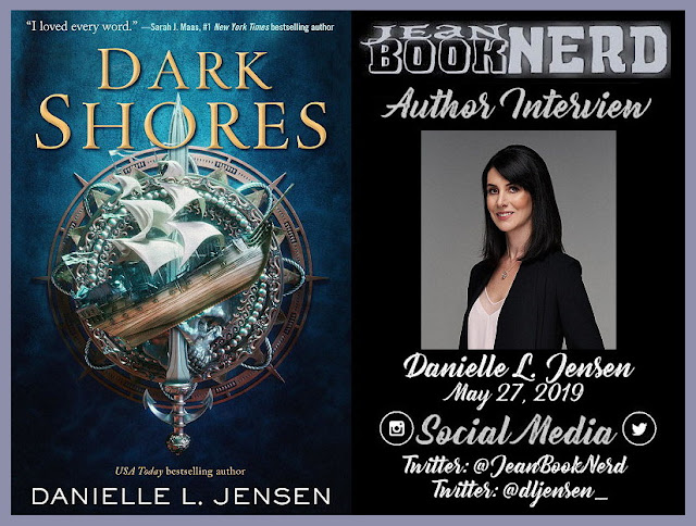 Danielle L  Jensen Author Interview ~ Jean BookNerd