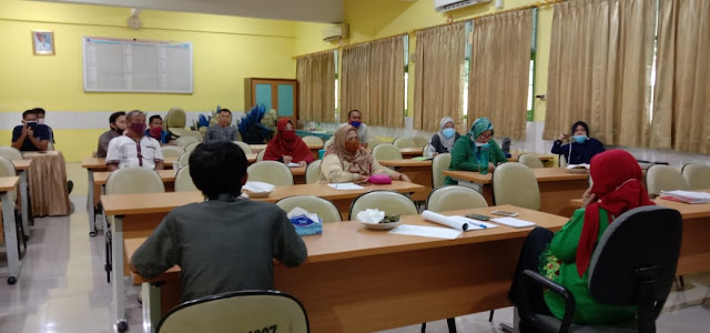 rapat PPDB SMAN 110 tahun 2020