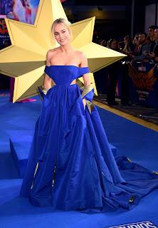 Brie Larson At Captain Marvel Premiere in London
