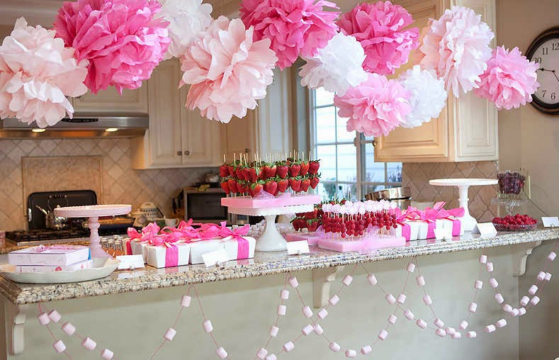 Baby Shower Decorations For A Girl Ideas Elitflat - Decoracion-baby-shower