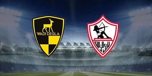 مباراة الزمالك ووادي دجلة بتاريخ 28-01-2020 الدوري المصري