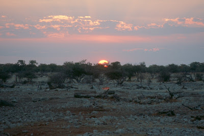 travel, Africa, sunset, landscape