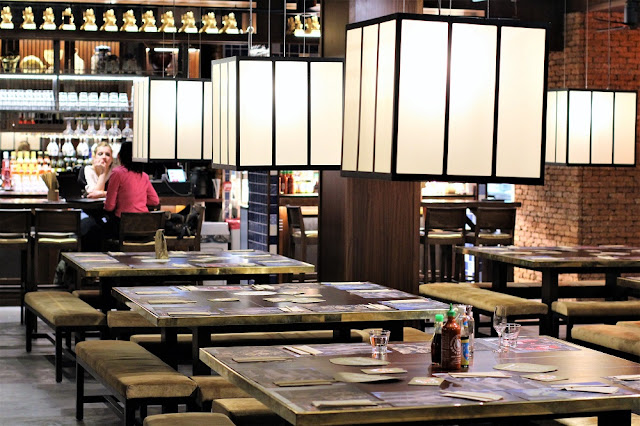 Dinner at Thai restaurant Busaba Eathai, Fitzrovia - London lifestyle blog