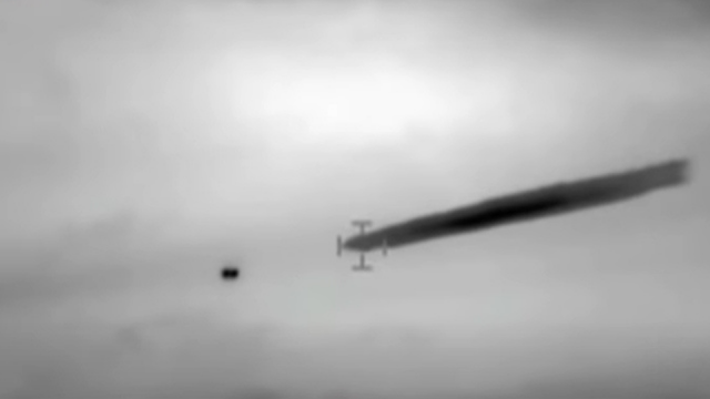 Chilean military film using Flir a UFO which is the same as the US Navy UAP videos.