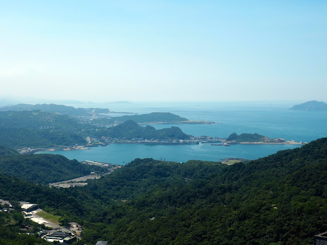 Coastal view from Jiufen, Taiwan