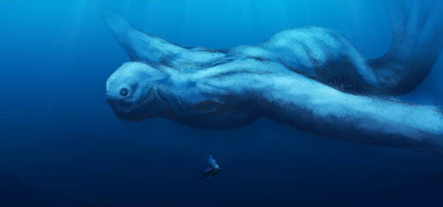 Absolutely huge Giants called the Ningen living on the Antarctic Continent.