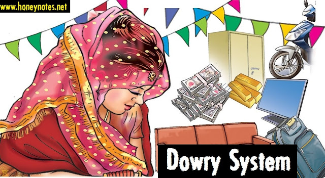 essays dowry system has Wedding procession- bride under a canopy with gifts circa 1800 in the last 100 years, the dowry system has taken over the brideprice system, and the existing dowry.