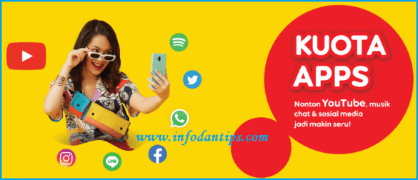 Pengertian Fungsi Dan Cara Menggunakan Kuota Apps Indosat Im3 Ooredoo