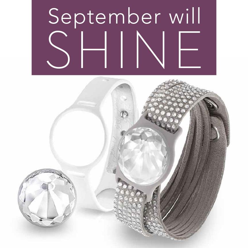 earn a swarovski shine fitness tracker in september touchstone crystal by swarovski. Black Bedroom Furniture Sets. Home Design Ideas