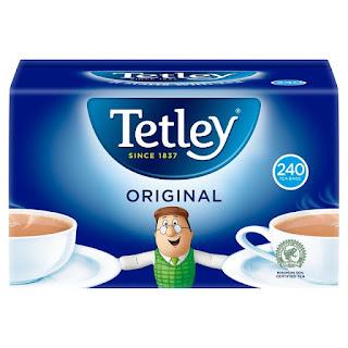 original tea Offer price £3, was £5 Tetley Tea Bags 240 per pack @ morrisons