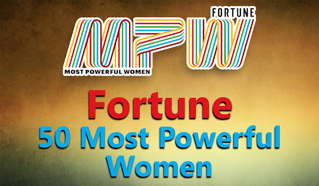 Fortune has released 50 Most Powerful Women's list for the year 2016. You can get complete list below. fortune most powerful women list 2016 pdf download