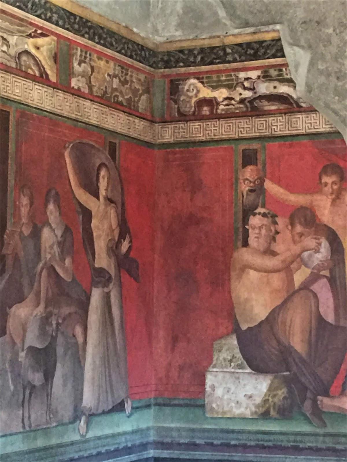 Villa dei Misteri-Sala del Triclinio
