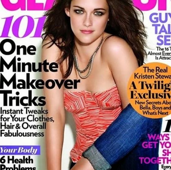 Kristen Stewart - Erros bizarros de photoshop em famosos e celebridades