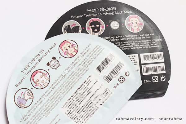 Review Hanaka Sheet Mask