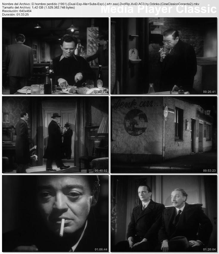 Capturas de pantalla:El hombre perdido | 1951 | Der Verlorene