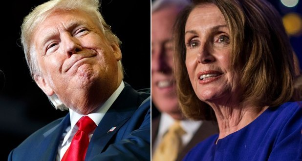 ترامب : نانسي بيلوسي تكره امريكا