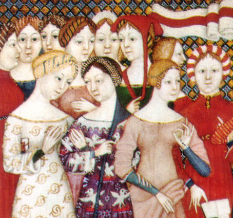 Medieval women better dressed than men