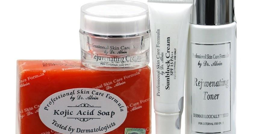 Professional Skin Care Formula By Dr Alvin Rejuvenating Set For Dry Pan Beauty Essentials