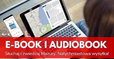 Zestaw: Przewodnik po Mazurach - książka, audiobook i e-book PDF
