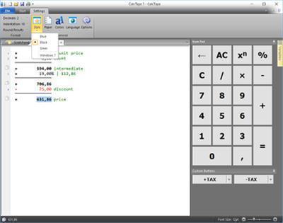 Download Schoettler CalcTape Pro 5.2.1.0 Multilanguage Portable