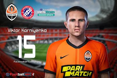 PES 2021 Faces Viktor Korniyenko by CongNgo