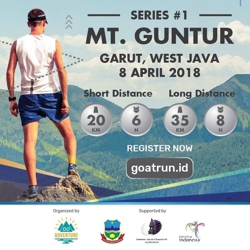 Goat Run - Trail Running Series - #1. Mt. Guntur • 2018