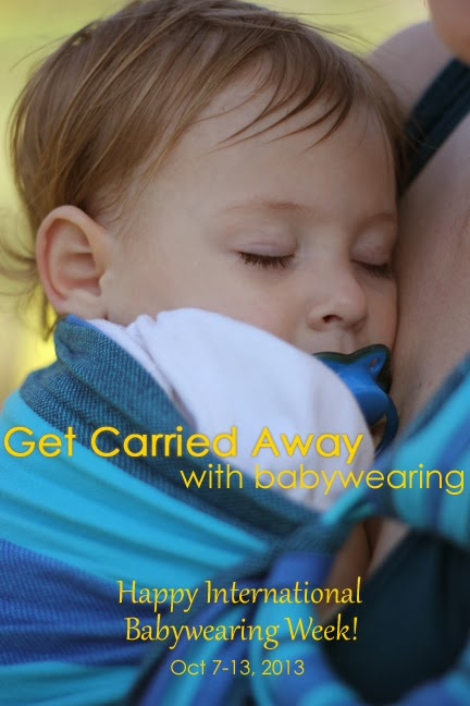 b14d6c370c0 Happy International Babywearing Week!