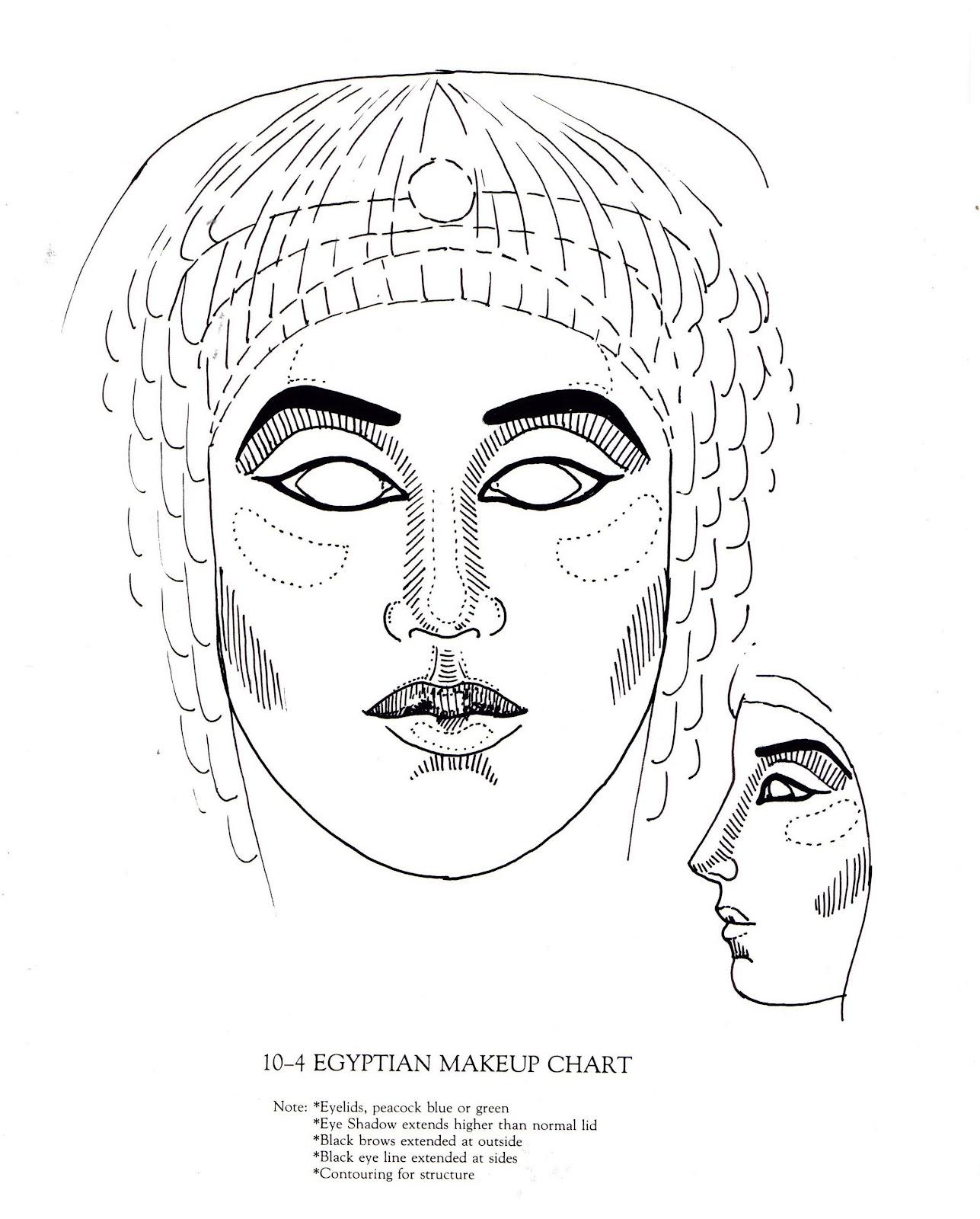 The Makeup Theory Studio Makeup In History Egyptian Makeup